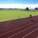 Cushy track finish